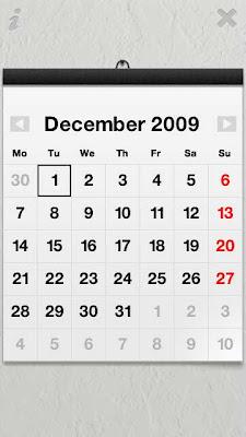 Calendar Touch Nokia 5800