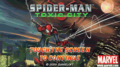 Spider-Man Toxic City Nokia 5800