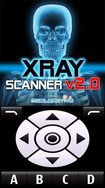 : Xray Scanner V2.0 para Nokia 5230, X6, C6, 5800, N97, 5530