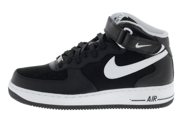 shoes nike air force 1 mid 07 rot und schwarz. Black Bedroom Furniture Sets. Home Design Ideas