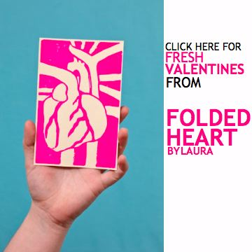 Get Your Folded Heart Valentines