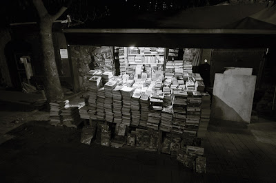 étalage de bouquiniste, Ortakoy, Istanbul, Turquie, bookstall, Ortakoy, Turkey, photo © dominique houcmant