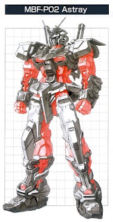 Gundam Astray : Red Frame