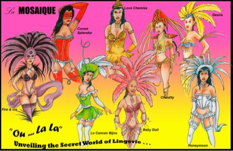 St.Lucia Carnival 2010: La Mosaique Theme