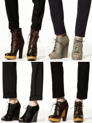 Pierre Hardy for GAP 2010 Shoe Collection