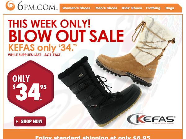 Kefas Winter Boots SALE