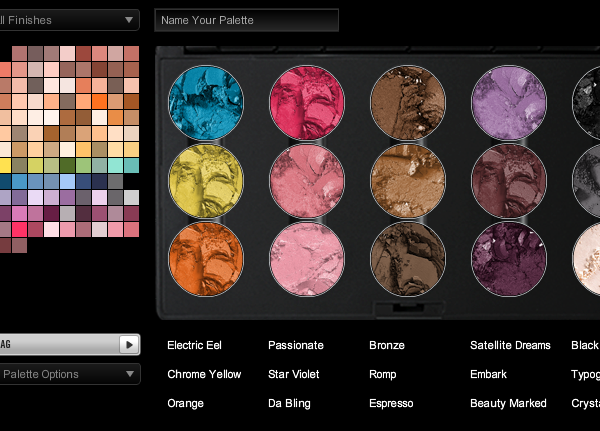 Create Your Own Custom Eye or Blush Palette Online.