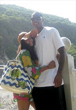 Lala Vasquez is in LOVE with St.Lucia!