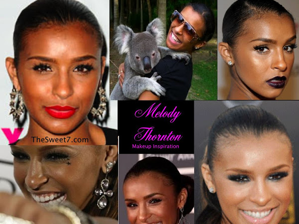 Makeup Inspiration: Melody Thornton