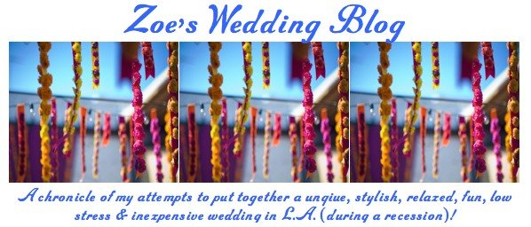 Z's Wedding Blog