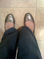 more gray flats @ Brittany's Cleverly Titled Blog