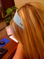 Lacoste headband @ Brittany's Cleverly Titled Blog