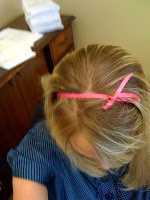bow in my hair @ Brittany's Cleverly Titled Blog