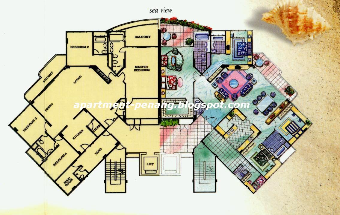Sri Golden Bay Apartment Penang Com