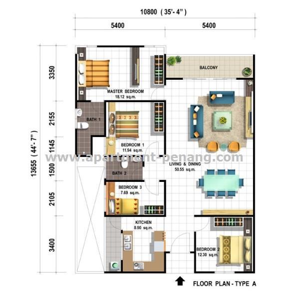 Dahlia Park Apartment Penang Com