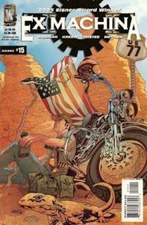 Ex Machina #15 - Comic of the Day