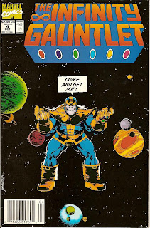 The Infinity Gauntlet #4 - Comic of the Day