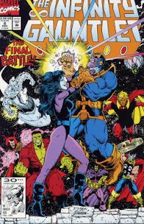 The Infinity Gauntlet #6 - Comic of the Day