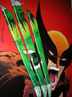 Todd McFarlane Wolverine Hulk Poster - Comic of the Day