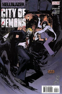 Hellblazer: City of Demons #4 - Comic of the Day