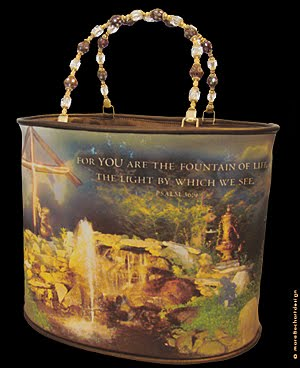 FOUNTAIN OF LIFE PURSE