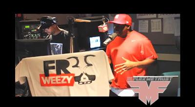 Funkmaster Flex com Lil Wayne de dentro da prisão de Rikers Island