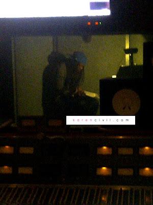 Foto Exclusiva: Lil Wayne no estúdio, gravando na Hit Factory