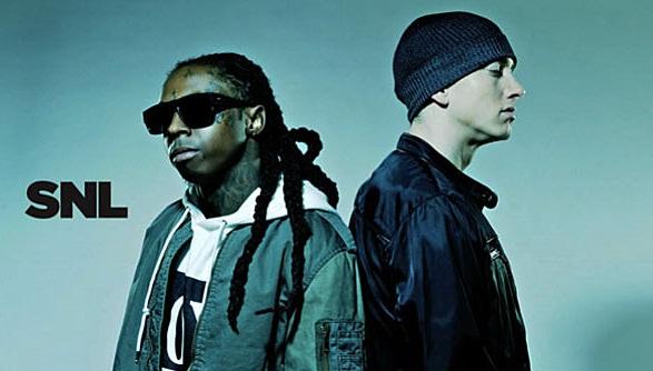Eminem & Lil Wayne se apresentam no Saturday Night Live (Dezembro 2010)