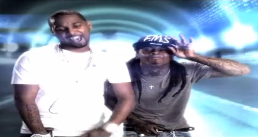 Cena do Lil Wayne & Juelz Santana no clipe Home Run