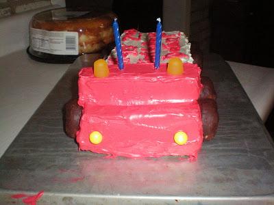 Big Rig Cake Pan