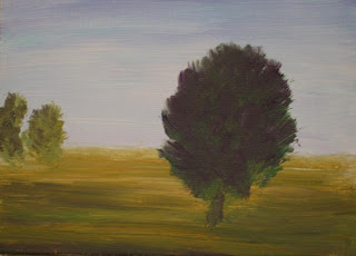 contemporary rural landscape original painting in acrylic by atul pande