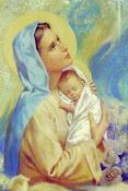 """""""Madre, que como hijo tuyo, permanezca siempre en tus brazos"""""""