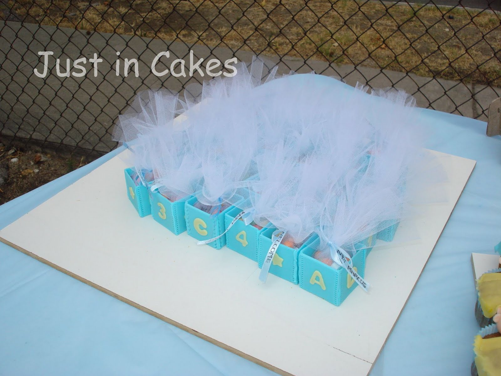 just in cakes recuerdos para baby shower