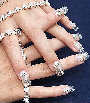 Luxuries Metalllic Nail Art History
