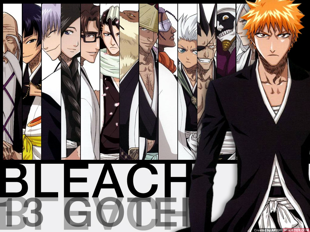 Bleach Manga Wallpapers