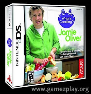 jamie oliver cooking in ds game