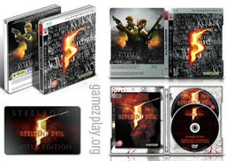 resident evil 5 limited edition pack