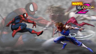 spider man fighting in marvel video game screenshot