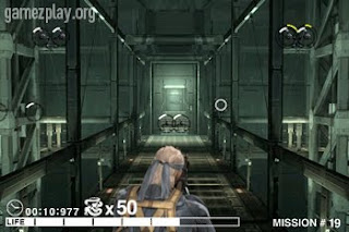 Metal Gear Solid Touch iphone screenshot snake stalking