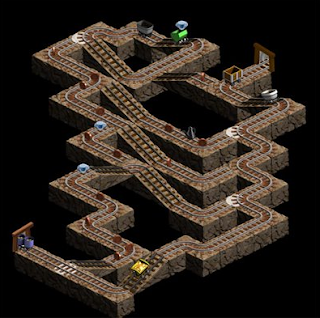 mistic mine layout screenshot