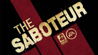 the saboteur video game logo