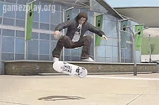boy flipping his skateboard as he jumps
