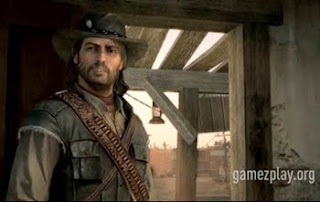 John Marston in red dead redemption