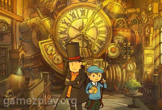 New Professor Layton video game screenshot