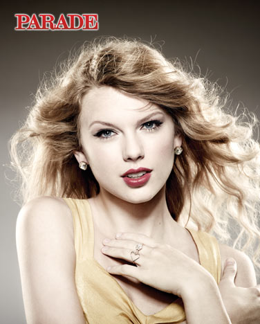 This is a pretty, basic close-up of Taylor Swift.