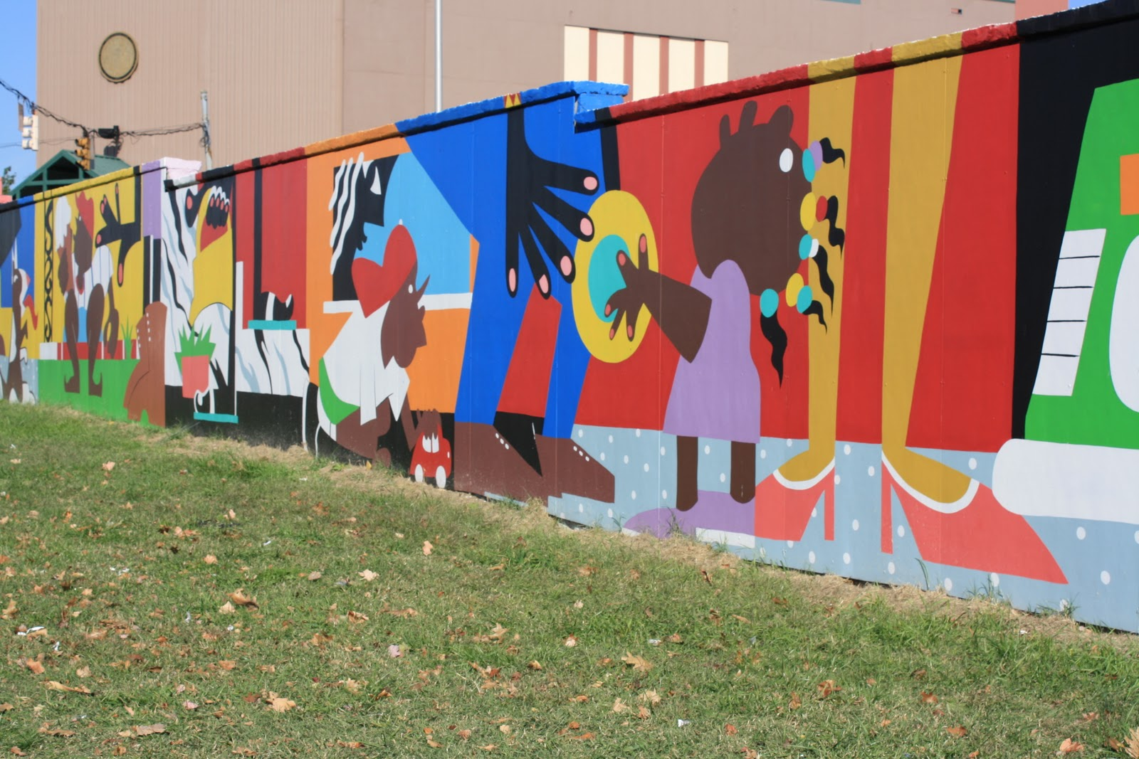 Y art for Baltimore mural program