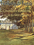 François de Fossa . Cinquième fantaisie. Opus 12. Editions Orphée