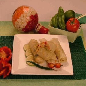 Cabbage Rolls with Spicy Vegetables Cabbage+Rolls+with+Spicy+Vegetables