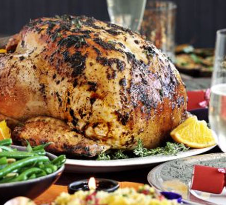 Middle Eastern roast turkey recipe
