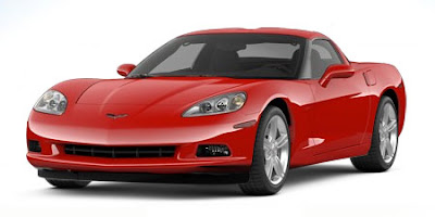 2008 Corvette Crystal Red Coupe Raffle